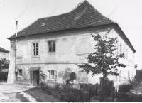 House in Prague-Stresovice, Andělka No.7.,  childhood place of D. Weitzenbauerova
