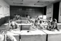Schooling of the army officers, after 1980