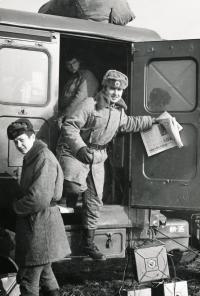 Josef Nitra Taking Part in Military Manoeuvres (Doupov, 1983)