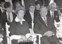 Parents Věra and Alois Ruprecht
