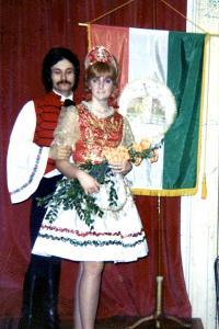 In the Hungarian club in Philadelphia 1969