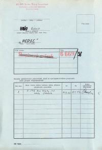 Investigation folder of Robert Vano, p. 1