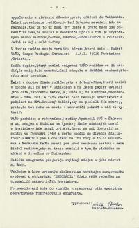 Investigation folder of Robert Vano, p. 3