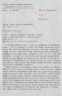 Investigation folder of Robert Vano, p. 14