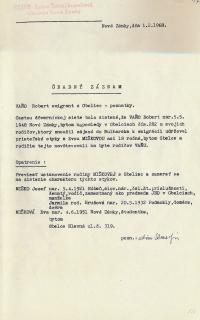Investigation folder of Robert Vano, p. 16