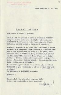 Investigation folder of Robert Vano, p. 17