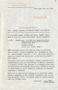 Investigation folder of Robert Vano, p. 20