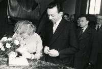 Svatební foto 2, 1958