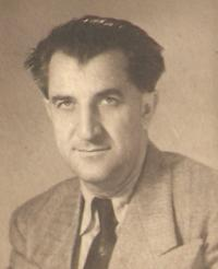 Prof. Krajina, father of the witness, Prague 1947/48