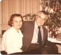 The Krajinas at Christmas, Toronto 1975