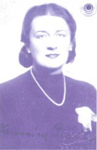 Maminka Jarmila Drábková (1905-1983)