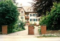 Alaska House at the outskirts of Frankfurt, the place of Czechoslovak exile