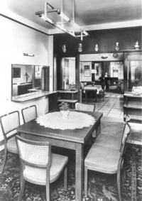 Byt v Krocínově ulici, který rodina Drábků opustila v únoru 1948