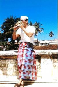 Jan Drábek v indickém Maisúru (1964)