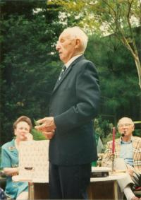 Dr Jaroslav Drabek, 90. narozeniny, Washington D.C., 1991