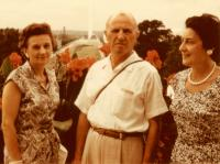 From left: Marie Krajinova, Dr Jaroslav Drabek with his wife Jarmila, Washington D.C., the end of the 1950s