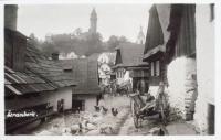 13 - Stramberk on a vintage postcard