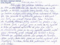 Michal Skiba - a letter