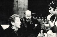 Barrault, Jean Louis, Károly Szigeti and Zsuzsa Gáspár,  Bordeaux, 1973