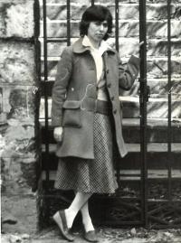 Zsuzsa Gáspár about 1979