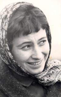 Agnes Erdelyi on the Danube River, 197