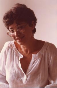Agnes Erdelyi in Regensburg, 1986