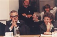 George Markus and Agnes Erdelyi, Markus 60th anniversary conference, 1994