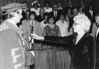 Juřinová Irina, 1970, PhDr. degree ceremony