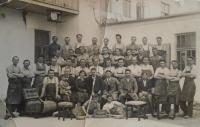 03 - employees Lisnov furniture factory - 1933