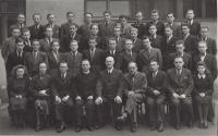 1935-1942 Cpt. Jaroš Grammar School, Brno (Vnislav top row, second from the right)