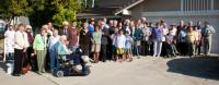 2011 - in the Czech mission center Velehrad in California on a picnic with compatriots, Petr Esterka in the middle of the