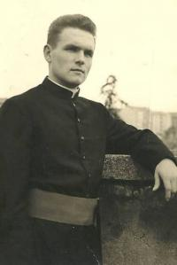1963 - Peter Esterka shortly after the ordination of a priest