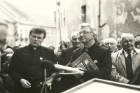 1989 - Prague, velvet revolution