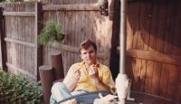 1980 - Peter Esterka afternoon nap