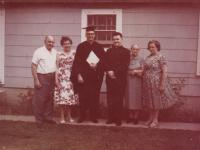 1965 - Petr Esterka, married Topenčíkovi, who fled to the U.S. and their son Paul after graduation