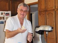 "2007 - Petr Esterka preparing the Czech ""dumplings"""