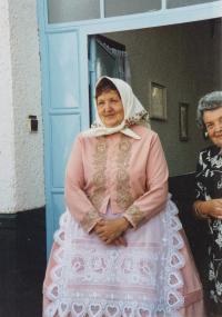 1999 - Agnes Hromková, born Esterková, sister to bishop Peter Esterky
