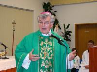 2009 - Petr Esterka at the spiritual center of Brno-Lesná