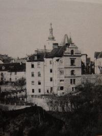Vila Libuše near Tábor where his grandparents lived