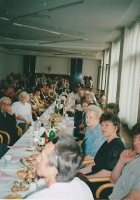 Assembly of Ukrainian organizations on the Mother's Day in Prague in 2003