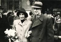 Prokop Michal – rodiče Lota a Jindřich Prokop, svatební foto 1939