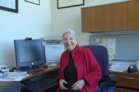 April 2016 - Ruzena Bajcsy in her office, Berkeley