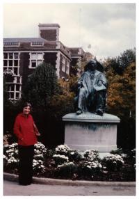 1975 - Ruzena at the University of Pennsylvania