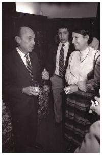 1986 - Ruzena at the University of Pennsylvania