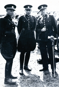 14 - father as the Czechoslovak army officer