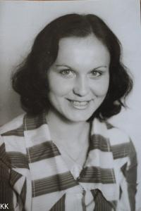 As a young woman