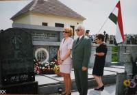 Memorial service in Rájov - fallen Hungarian soldiers
