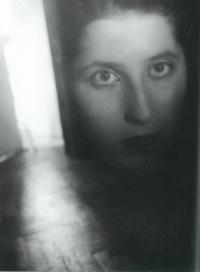 Portrait of Markéta from Jiří Ployhar´s Album Years and Seconds, 1947