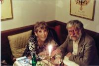 Marketa and Ivan Havel, Prague, 2007