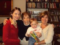 Marketa and three generations of the Lopatka family, 2009
